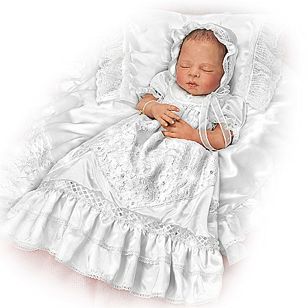 Baby Doll: All God's Grace In One Little Face Signature Edition Christening Baby Doll