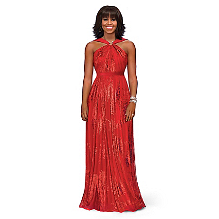 Michelle Obama Fashion Doll: Inaugural Ball