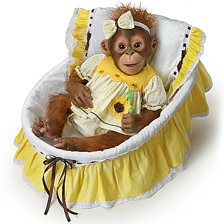 Monkey Doll: You Are My Sunshine Monkey Doll