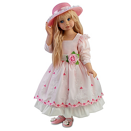 Angela Sutter Blossom Handcrafted Child Doll