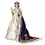 Doll: Queen Elizabeth II Commemorative Coronation Portrait Doll