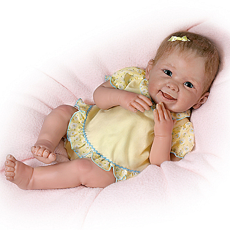 Baby Doll: Tummy Tickles Touch-Activated Baby Doll