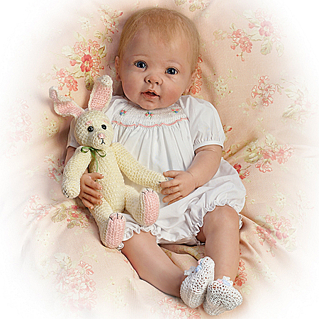 Bunny Hugs So Truly Real Country Inspired Baby Doll