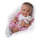 Kitten Kisses So Truly Real Lifelike Baby Girl Doll By Linda Murray