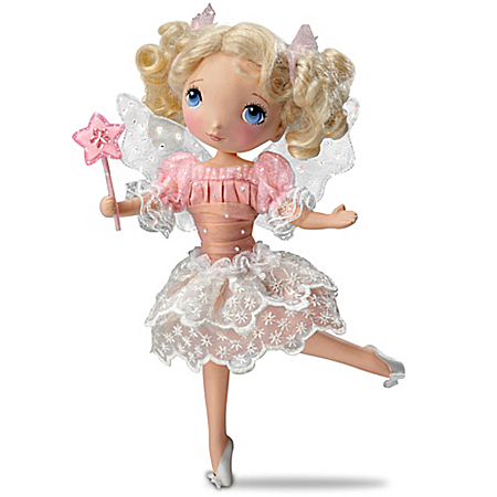 Granddaughter, I Wish You Poseable Child Doll