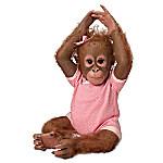 Annabelle's Hugs So Truly Real Poseable Lifelike Monkey Doll