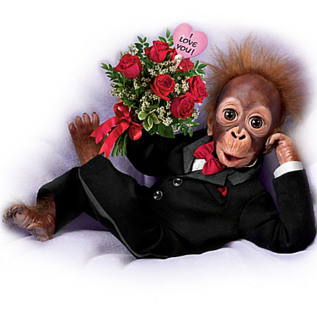 Wild About You Monkey Doll In Tux