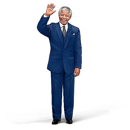 Doll: Nelson Mandela Talking Commemorative Portrait Doll