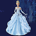 Disney Cinderella Princess Sparkling Beauty Portrait Doll