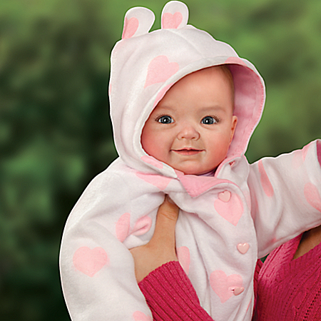 Doll: Cutest Baby Of 2014 Portrait Savana Baby Doll