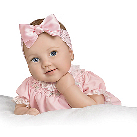 So Truly Real Lyla Grace Vinyl Baby Doll