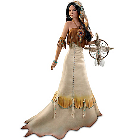 Renata Jansen Sacred Circle Of Love Bride Doll Inspired By The Four Directions Blessing