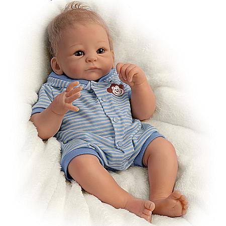 Tasha Edenholm So Truly Real Benjamin Baby Boy Doll