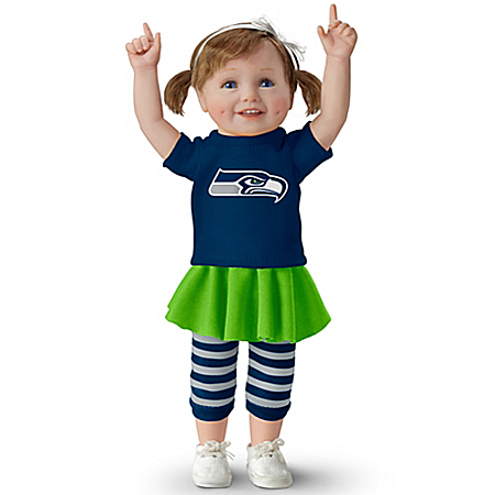 Seahawk Girls Have More Fun! NFL-Licensed Seattle