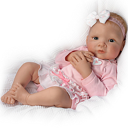 Granddaughter, I Love You Head To Toe So Truly Real Lifelike Baby Doll
