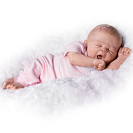 Violet Parker So Truly Real So Sleepy Sophie Realistic Baby Girl Doll