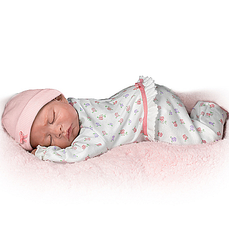 Sweet Dreams, Maddie So Truly Real Lifelike Breathing Baby Doll