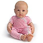 So Truly Mine Lifelike Baby Doll For Kids Ages 3+ - Blonde Hair, Brown Eyes