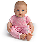 So Truly Mine Lifelike Baby Doll For Kids Ages 3+ - Light Brown Hair, Blue Eyes