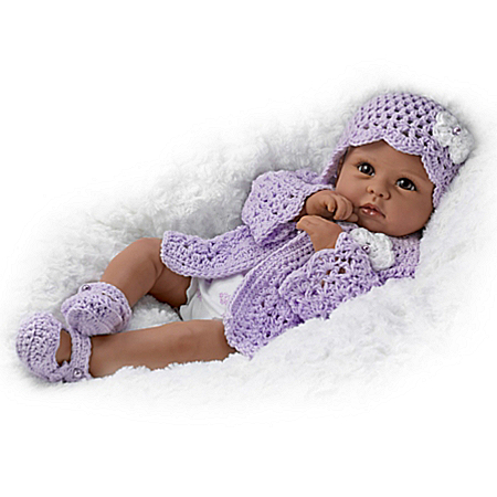 Linda Murray Tiana Goes To Grandma's Lifelike African-American Baby Girl Doll