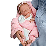 Cuddle Caitlyn So Truly Real Lifelike Baby Girl Doll With Warming Feature