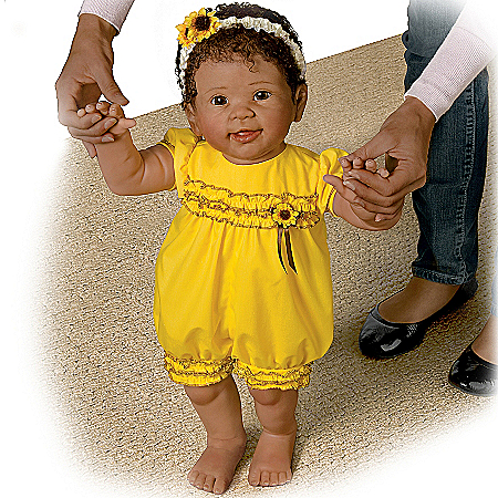 Kiara's First Steps So Truly Real Lifelike Walking Baby Doll