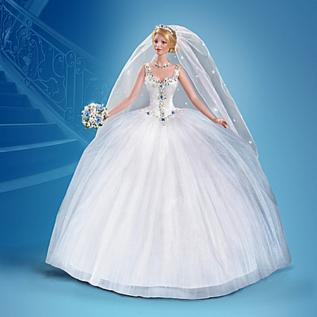 Cindy McClure Happily Ever After Bride Doll With Swarovski Crystals