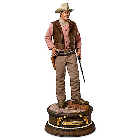 John Wayne The Duke Masterpiece Edition Sculpture