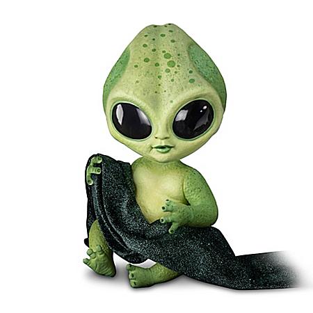 Lumina Alien Baby Doll With Glow-In-The-Dark Vinyl Skin