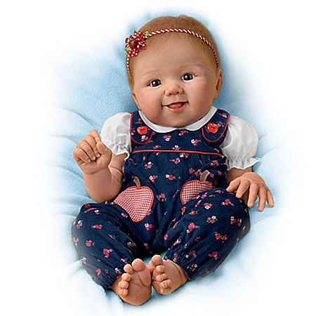 Apple Dumpling So Truly Real Poseable Baby Doll