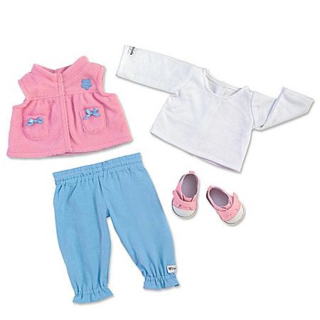 Play Date Baby Doll Accessory Set With Vest And Shoes