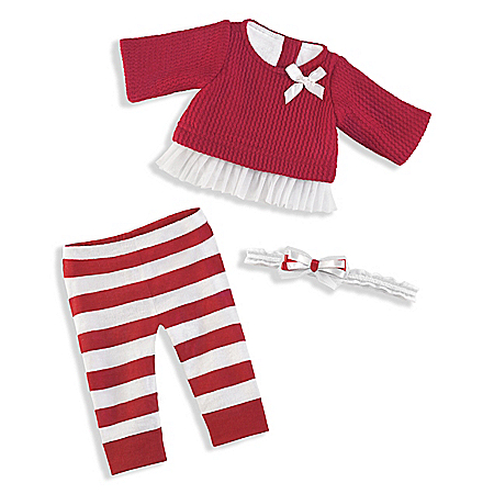 So Truly Mine Holiday Sweater Baby Doll Accessory Set