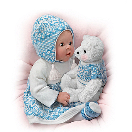 Sherry Rawn Eskimo Kisses Lifelike Baby Girl Doll