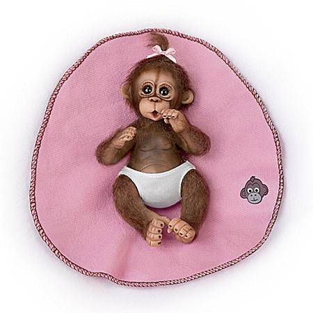 Bundle Of Joy Monkey Doll 302376002