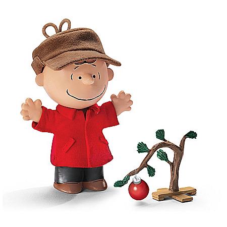 Charlie Brown Christmas Doll