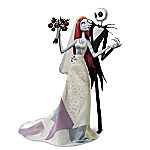 Disney Tim Burton's The Nightmare Before Christmas Jack And Sally's Nightmare Romance Doll Set