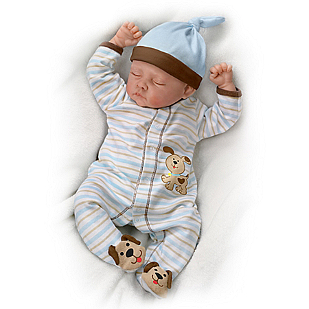 Sweet Dreams, Danny Weighted Lifelike Baby Boy Doll