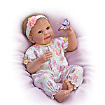 Butterfly Kisses & Flower Petal Wishes Vinyl Baby Doll