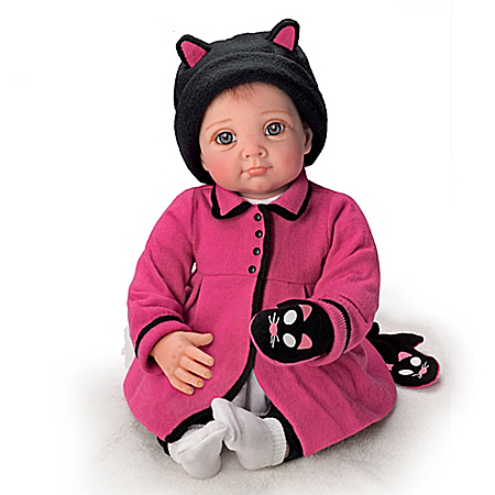 Collector's Edition Little Kitten Lost Her Mitten So Truly Real Baby Doll
