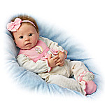Maddie, I Love You To The Moon And Back Lifelike Baby Doll By Linda Murray