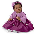 Elly Knoops Pretty As A Princess Poseable Lifelike Baby Girl Doll