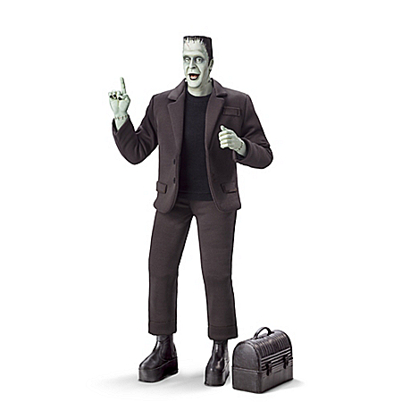 HERMAN MUNSTER Handcrafted Musical Figure 302429001
