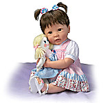 Molly And Rags Lifelike Baby Doll