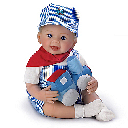 All Aboard, Logan Lifelike Baby Doll 302466001