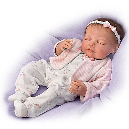 Dream Big, Little One Touch-Activated Vinyl Baby Doll