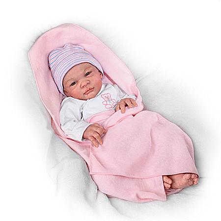 Mina Torquati Little Miracle, Big Blessing Lifelike Baby Doll
