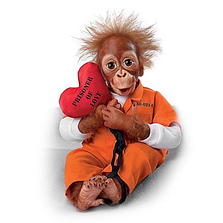 Prisoner Of Love So Truly Real Monkey Doll