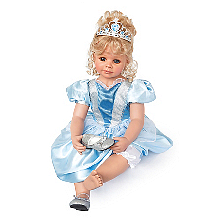Cinderella Poseable Child Doll