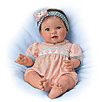 Ping Lau Littlest Sweetheart Realistic Baby Doll