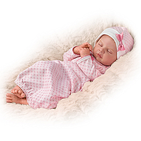 Sweet Dreams, Serenity Breathing Lifelike Baby Doll